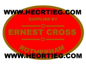 Ernest Cross Motorcycles Rotherham Dealer Decals Transfers DDQ38